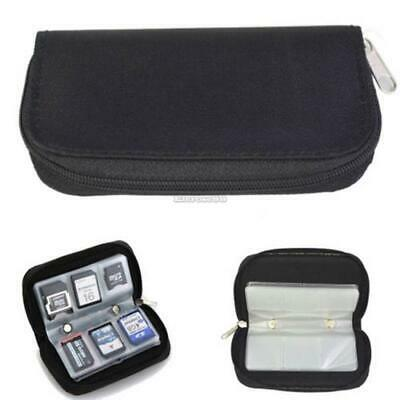 Memory Card Storage Carrying Pouch Case Holder For CF/SD/SDHC/MS/DS ElR8