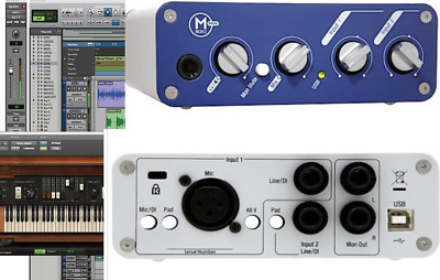 Avid Mbox 2 Mini interface Pro Tools 8 for Windows  10  and 7