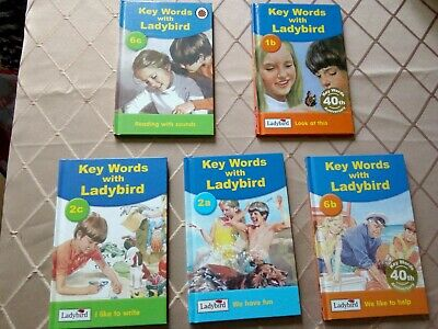 Key Words with LADYBIRD... collection of 5 easy to read books for young children