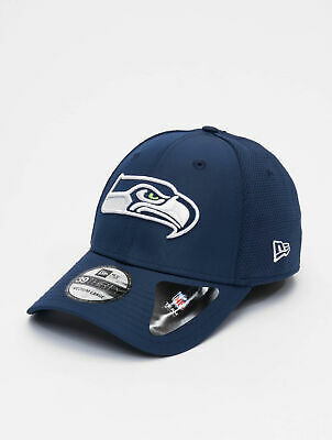New Era Jersey Hex 39Thirty Seattle Seahawks Fitted Cap grey navy 94158