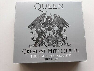 Queen Greatest Hits I, Ii, Iii Platinum Collection 3 Cd Set - New Sealed Bargain