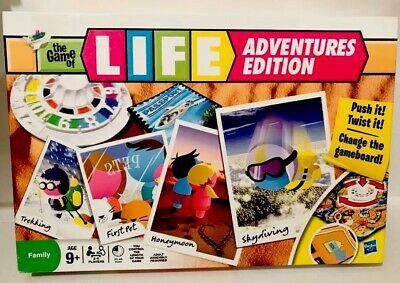 The Game Of Life (Adventures Edition) Hasbro Games