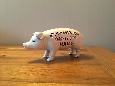 Cast Iron Piggy Bank Money Box