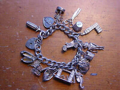 Solid Silver 925 lovely angel charm pendant for bracelet or necklace A12P