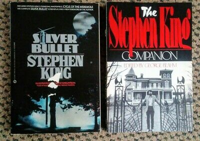 Stephen King Silver Bullet Screenplay Cycle Of The Werewolf Book 1st Printing