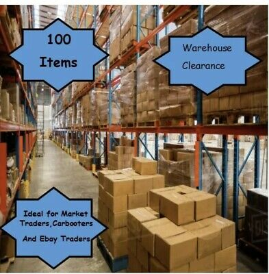 100 Items For Resale Wholesale Job Lot Ideal For Car Boot Sale Ebay And Markets