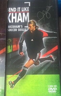 David Beckham Hand Signed DVD With Photo Proof