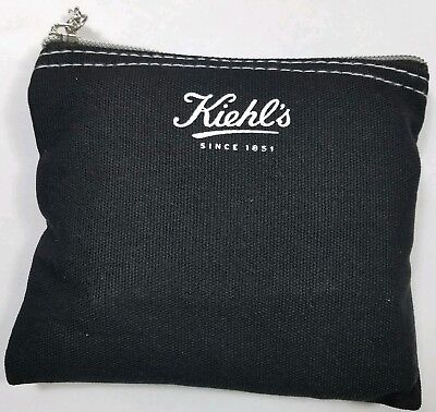Kiehl's Grooming Kit Black Travel Inose Pouch Delta Air Lines Gift Bag Toiletry