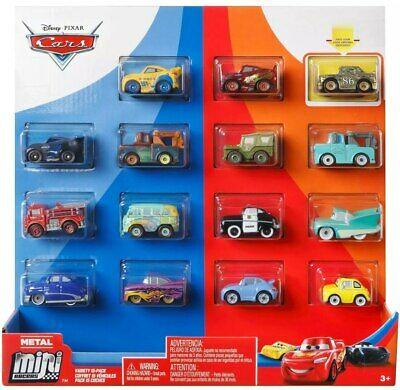Disney pixar mini racers cars exclusive car 15-pack