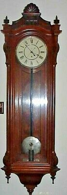 Antique Seth Thomas Clock - #16 Jewelers Wall Regulator -1885 - All Original