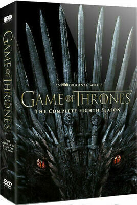 Game Of Thrones: Season 8 (DVD, 2019) US Seller New