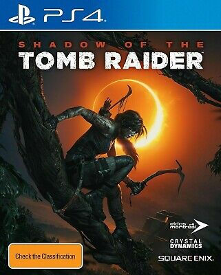 Shadow of the Tomb Raider PS4 Playstation 4 Game Brand New & Sealed FREE POSTAGE
