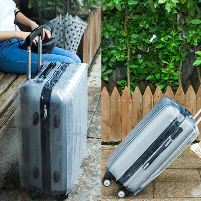 20-28in Travel Luggage Cover Protector Suitcase Anti Scratch Waterproof Reusable