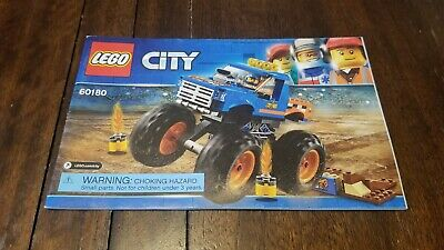 LEGO City Monster Truck Set - (60180) - Instruction Manual Only