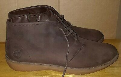 TIMBERLAND EARTHKEEPERS CITY Lite Black Leather Chukka Boots