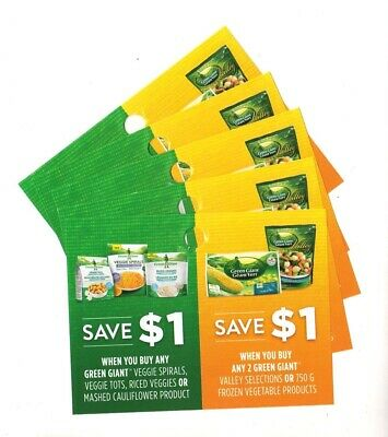 20 x Save $1 on Green Giant Frozen Veggie Products Coupons (Canada)