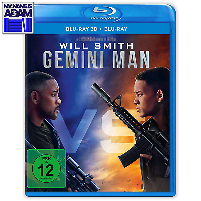 GEMINI MAN Blu-ray 3D + 2D (REGION-FREE) IN-STOCK! SHIPS NEXT BUSINESS DAY!