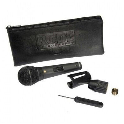 Rode M1-S Live Performance Dynamic Microphone with Lockable On/Off Switch and