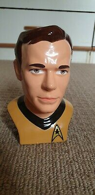 Applause Star trek figural mug Captain Kirk