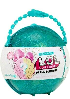 LOL Pearl Mermaid Surprise Limited Edition Doll Green Teal case NEW Authentic