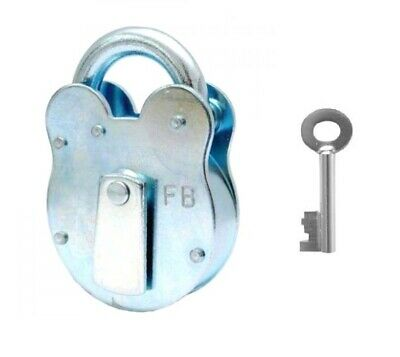 London Fire Brigade FB1 Padlock Comes With 1 Key + Extra Keys Available