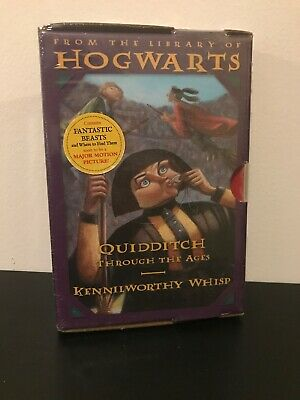 NEW & SEALED Harry Potter: Quidditch Through the Ages / Fantastic Beasts