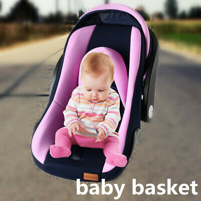 Portable Baby Kids Car Seat Basket Newborn Infant Safe Chair Cradle Hand tV