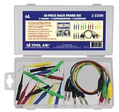 S & G TOOL AID 20 Piece Electrical BackTester Kit TA23500