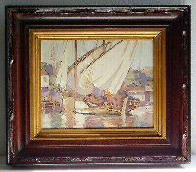 Original watercolour painting by Donald M Paterson, RSW