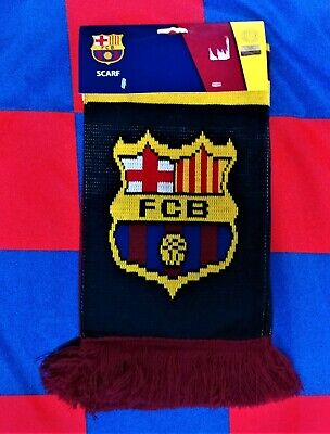F.C. Barcelona (Brand New Still Packaged) Official Merchandise Football Scarf