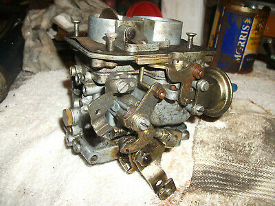 Weber 32/34 Dmtl Carb/Carburettor & Kn Bolt On Air Filter Used Good Condition