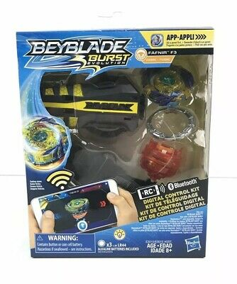 Brand NEW Beyblade Burst Evolution Digital Control Top FAFNIR F3 Hasbro