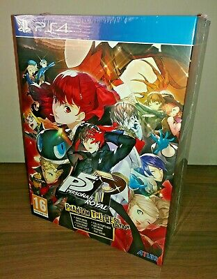 Persona 5 Royal Phantom Thieves Edition Ps4 New Sealed