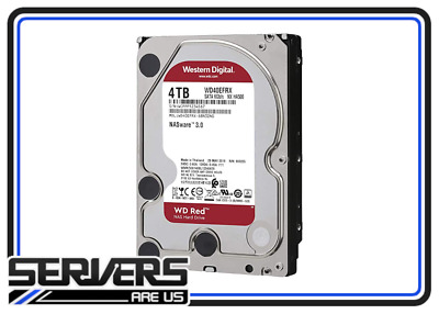 "Western Digital Red 3.9TB Internal 5400RPM 3.5"" (WD40EFRX) NAS"