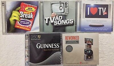 TV Ad Songs Compilation CD Bundle