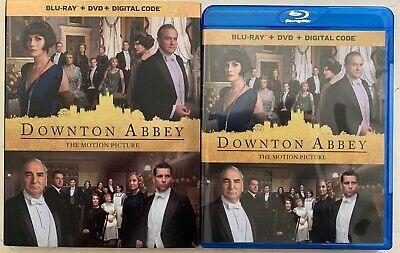 Downton Abbey The Motion Picture Blu Ray Dvd 2 Disc Set + Slipcover Sleeve Buy