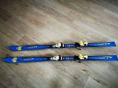 SKI ALPIN TECNO Carve22 in blau Salomon Bindung EUR 29