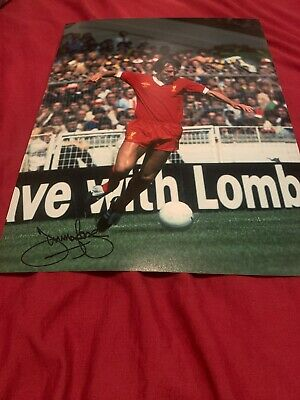 Jimmy Case Liverpool Signed 16x12 Photo