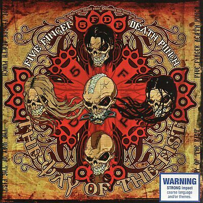 Five Finger Death Punch - The Way Of The Fist Cd 2007 Spinefarm Records Aus