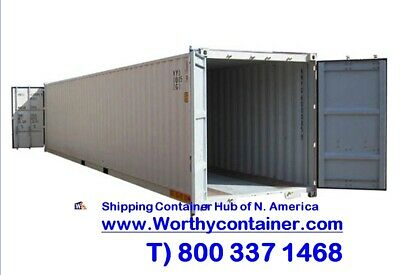 Double Door(DD) - 40' New / One Trip Shipping Container in Seattle, WA