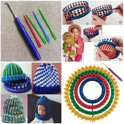 14,19,25,30cm Round Circle Knitting Knit New Version L-oom Kit Crocheting Boards