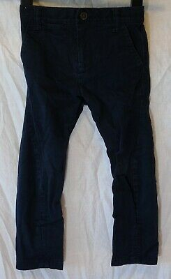 Boys Next Dark Midnight Blue Colourwash Denim Twisted Leg Jeans Age 3 Years