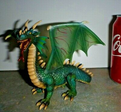 Schleich Green Dragon – 2004 – 2013 Retired & Collectable