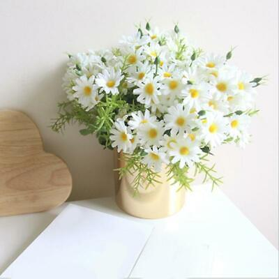 Bouquet Artificial Flowers Fake Spring Daisy Home Table Decor C