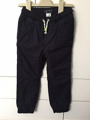 BNWT Boys Next Navy Trousers Size 4 Years