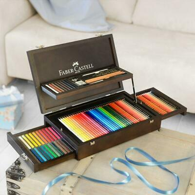 Faber-Castell Art & Graphic Collection wooden case 125 pieces