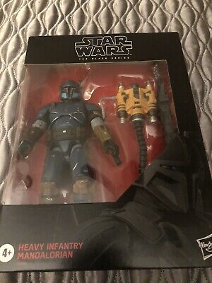 "Star Wars 6"" Black Series HEAVY INFANTRY MANDALORIAN #D2 Exclusive In Hand"