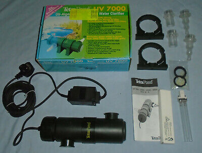 TetraPond UV 7000 UV Water Clarifier Pond Filter Anti Green Water Filter System.