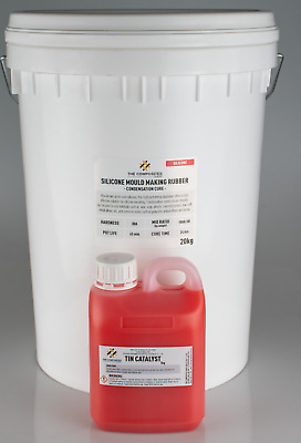 30A Liquid Silicone Rubber Mould Mix - 20KG