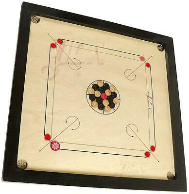Classic Carrom 32 x 32 Set With Board, Coins and Striker - Carrom Board